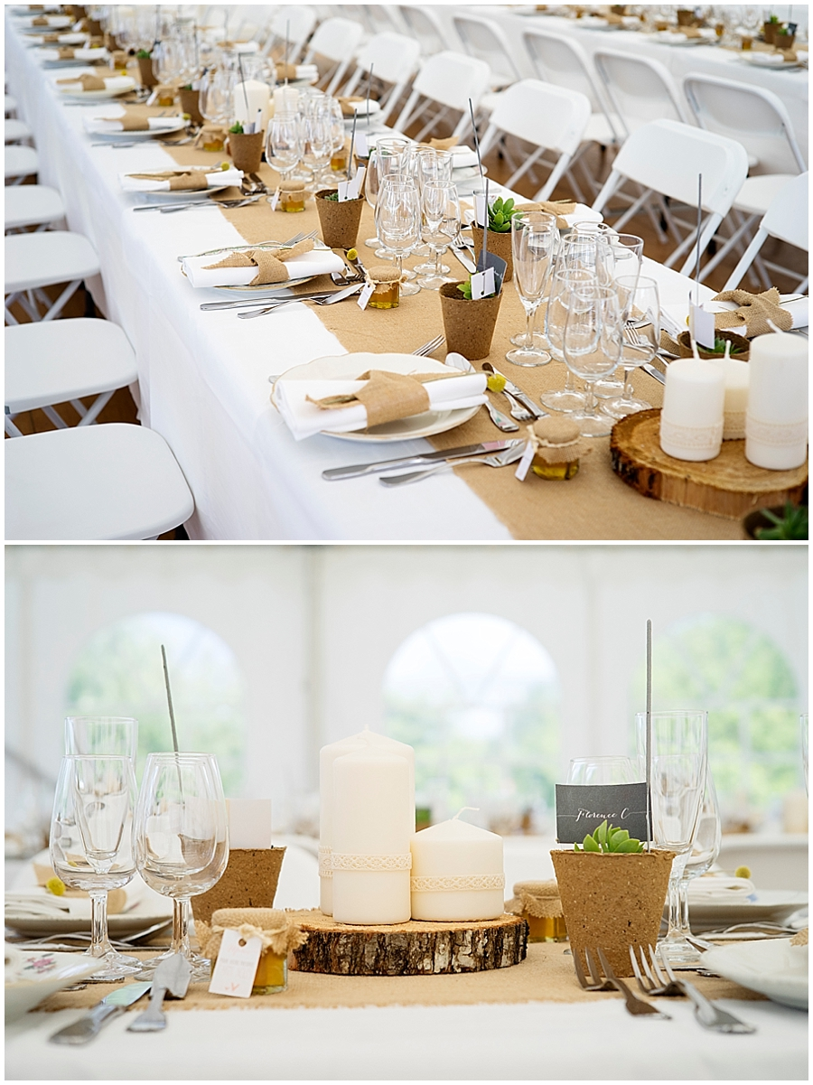 Deco de table champetre chic - Deco table mariage champetre chic ...